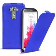 Basic Flip Case für LG G3 Klapptasche Cover Hülle in Blau