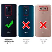Flipcase für LG G7 Hülle Klapphülle Cover klassische Handy Schutzhülle