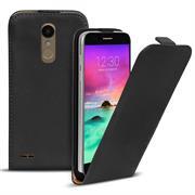 Flip Case Cover für LG K10 2017 Klapptasche Handy Schutz Hülle