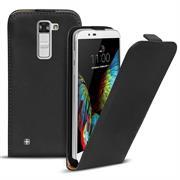 Flip Case Cover für LG K10 Klapptasche Handy Schutz Hülle