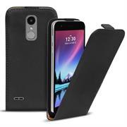 Flip Case Cover für LG K4 2017 Klapptasche Handy Schutz Hülle
