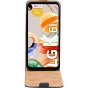 Flipcase für LG K61 Hülle Klapphülle Cover klassische Handy Schutzhülle