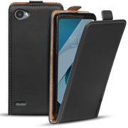 Flip Case Cover für LG Q6 Klapptasche Handy Schutz Hülle