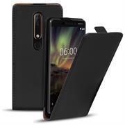 Flip Case Cover für Nokia 6 2018 Klapptasche Handy Schutz Hülle