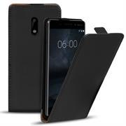 Flip Case Cover für Nokia 6 Klapptasche Handy Schutz Hülle