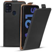 Flipcase für Samsung Galaxy A21s Hülle Klapphülle Cover klassische Handy Schutzhülle