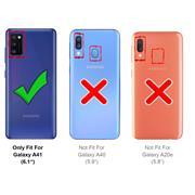 Flipcase für Samsung Galaxy A41 Hülle Klapphülle Cover klassische Handy Schutzhülle