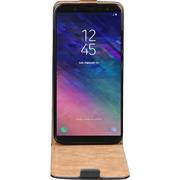Flipcase für Samsung Galaxy A6 Hülle Klapphülle Cover klassische Handy Schutzhülle