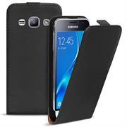 Basic Flip Case für Samsung Galaxy J3 2016 Klapptasche Cover Hülle