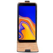 Basic Flip Case für Samsung Galaxy J4 Plus Klapptasche Cover Flipstyle Hülle