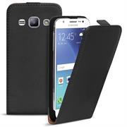 Basic Flip Case für Samsung Galaxy J5 Klapptasche Cover Hülle