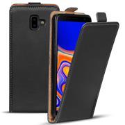 Flipcase für Samsung Galaxy J6 Plus Hülle Klapphülle Cover klassische Handy Schutzhülle