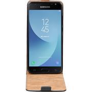 Basic Flip Case für Samsung Galaxy J7 2017 Klapphülle Cover Hülle Flipstyle