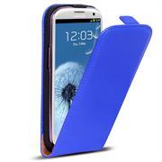 Basic Flip Case für Samsung Galaxy S3 / S3 Neo Klapptasche Cover Hülle in Blau