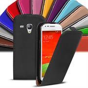 Flip Case Cover für Samsung Galaxy S3 Mini Klapptasche Handy Hülle