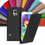 Basic Flip Case für Samsung Galaxy S5 / S5 Neo Klapptasche Cover Hülle