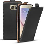 Flipcase für Samsung Galaxy S6 Hülle Klapphülle Cover klassische Handy Schutzhülle