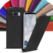 Basic Flip Case für Samsung Galaxy S8 Klapptasche Cover Hülle