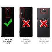 Flipcase für Sony Xperia 1 Hülle Klapphülle Cover klassische Handy Schutzhülle