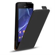 Flip Case Cover für Sony Xperia E4g Klapptasche Handy Schutz Hülle
