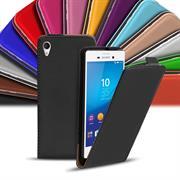Basic Flip Case für Sony Xperia M4 Aqua Klapptasche Cover Hülle