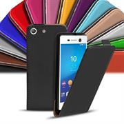 Basic Flip Case für Sony Xperia M5 Klapptasche Cover Hülle