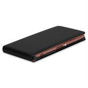 Flip Case Cover für Sony Xperia M Klapptasche Handy Schutz Hülle