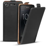 Basic Flip Case für Sony Xperia XZ1 Compact Klapphülle Cover Hülle Flipstyle