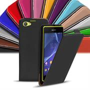Flip Case Cover für Sony Xperia Z1 Compact klappbare Hülle