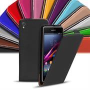Flip Case Cover für Sony Xperia Z1 Klapptasche Handy Schutz Hülle