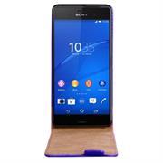 Basic Flip Case für Sony Xperia Z3 Klapptasche Cover Hülle in Blau