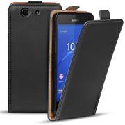 Basic Flip Case für Sony Xperia Z3 Compact Klapptasche Cover Hülle