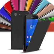 Flip Case Cover für Sony Xperia Z3 Compact klappbare Handy Hülle
