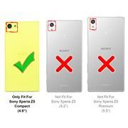 Flipcase für Sony Xperia Z5 Compact Hülle Klapphülle Cover klassische Handy Schutzhülle
