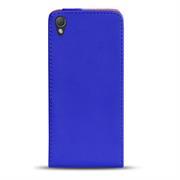 Basic Flip Case für Sony Xperia Z Klapptasche Cover Hülle in Blau