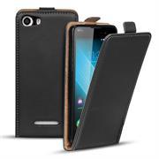 Flip Case Cover für Wiko Lenny 2 Klapptasche Handy Schutz Hülle