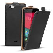 Basic Flip Case für Wiko Pulp 4G Klapptasche Cover Hülle