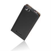Basic Flip Case für Wiko Pulp Fab 4G Klapptasche Cover Hülle