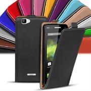 Basic Flip Case für Wiko Rainbow Klapptasche Cover Hülle