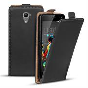 Flip Case Cover für Wiko U Feel Prime Klapptasche Handy Schutz Hülle