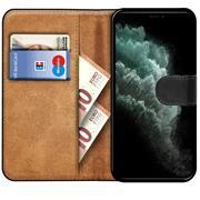 Basic Bookcase Hülle für Apple iPhone 11 Pro Case klappbare Schutzhülle