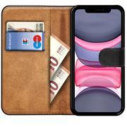 Basic Bookcase Hülle für Apple iPhone 11 Case klappbare Schutzhülle