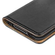 Basic Bookcase Hülle für Apple iPhone 4 / 4S Klapphülle Tasche mit Kartenfächer