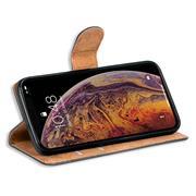 Basic Handyhülle für Apple iPhone XS Max Hülle Book Case klappbare Schutzhülle