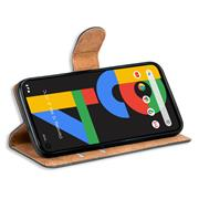 Basic Handyhülle für Google Pixel 4a Hülle Book Case klappbare Schutzhülle