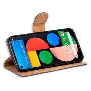 Basic Handyhülle für Google Pixel 5 Hülle Book Case klappbare Schutzhülle