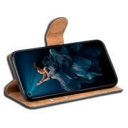 Basic Bookcase Hülle für Honor 20 Pro klappbare Tasche mit Kartenfächern