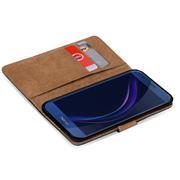 Basic Bookcase Hülle für Honor 8 klappbare Tasche mit Kartenfächern