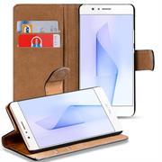 Basic Bookcase Hülle für Honor 8 Pro Klapphülle Tasche mit Kartenfächern