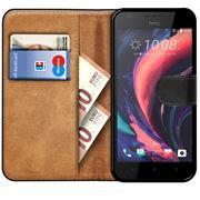 Basic Handyhülle für HTC Desire 10 Lifestyle Hülle Book Case klappbare Schutzhülle